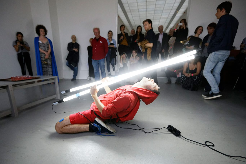 Performance van Joaquin Wall bij FLAM VII