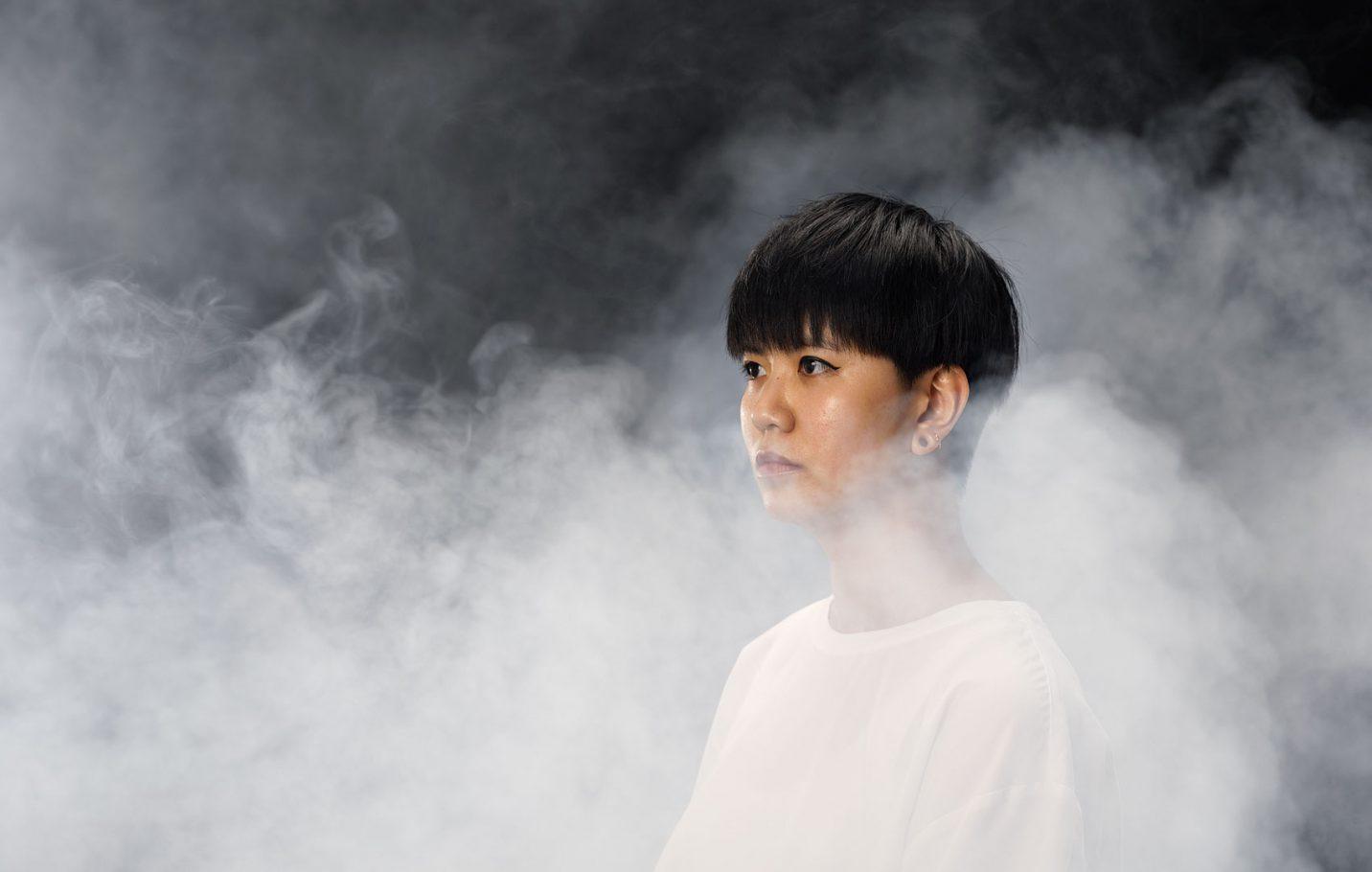 Portret van KwenYee-Chow voor de Breitner Academie
