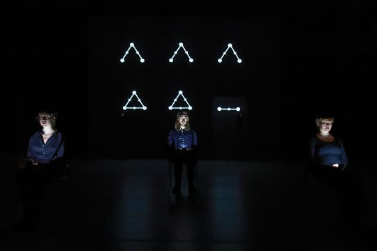 performance Human Simulation van Orion Maxted in Frascati Amsterdam